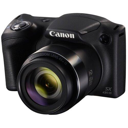 Фото - Фотоаппарат Canon PowerShot SX430 IS черный фотоаппарат canon powershot sx740 hs серебристый коричневый