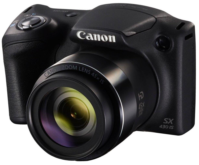 Компактный фотоаппарат Canon PowerShot SX430 IS