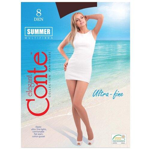 Колготки Conte Elegant Summer, 8 den, размер 4, shade (коричневый)