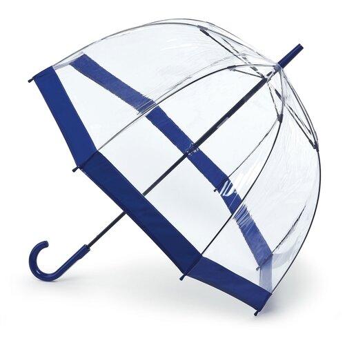Зонт-трость механика FULTON Birdcage синий