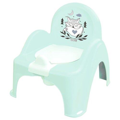 Купить Горшок Стульчик Tega Лисенок зеленый, Tega Baby, Горшки и сиденья