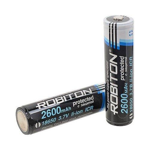 Фото - Аккумулятор Robiton 18650 2600 mAh 5,2A (Samsung Li-ion) . аккумулятор li ion 2600 ма·ч robiton sam2600 high top незащищенный 18650 1 шт