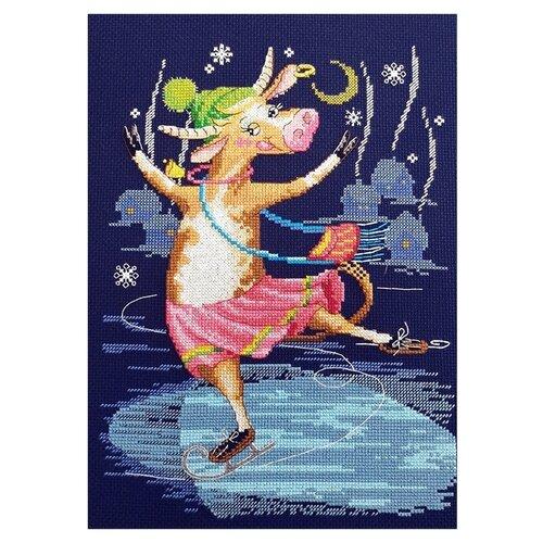 Набор для вышивания Новогодний пируэт 20 х 28 см МАРЬЯ ИСКУСНИЦА 01.033.33 набор для вышивания марья искусница 11 001 24 испания
