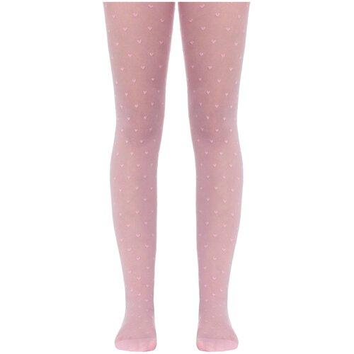 Фото - Колготки Conte Elegant ANABEL, размер 116-122, pink колготки conte elegant lucia размер 116 122 bianco