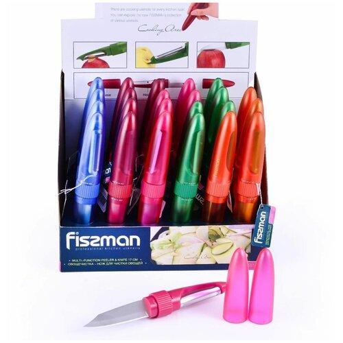 Овощечистка - нож для чистки овощей Fissman 18 см fissman нож для овощей atacama 9 см голубой
