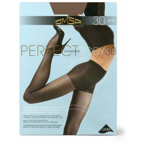 Колготки Omsa Perfect Body, 30 den, размер 3-M, daino (бежевый)