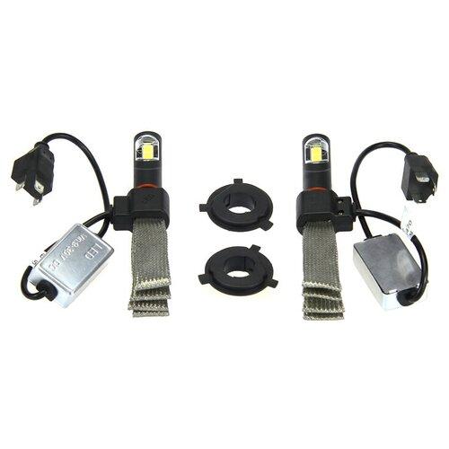 Лампа автомобильная светодиодная Vizant G6 цоколь H4 COB-Epistar 3200lm 5000k 2 шт.