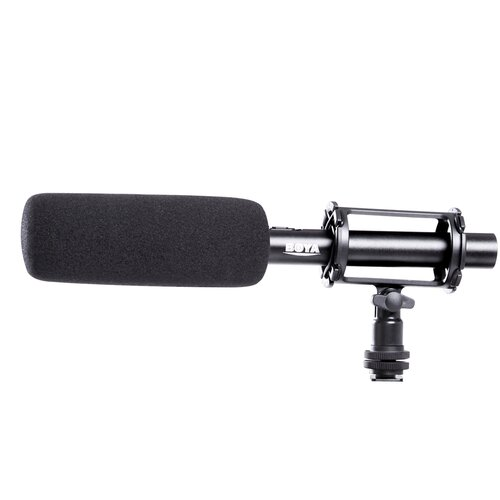 Фото - Накамерный микрофон BOYA BY-PVM1000L boya by c03 амортизатор для микрофона