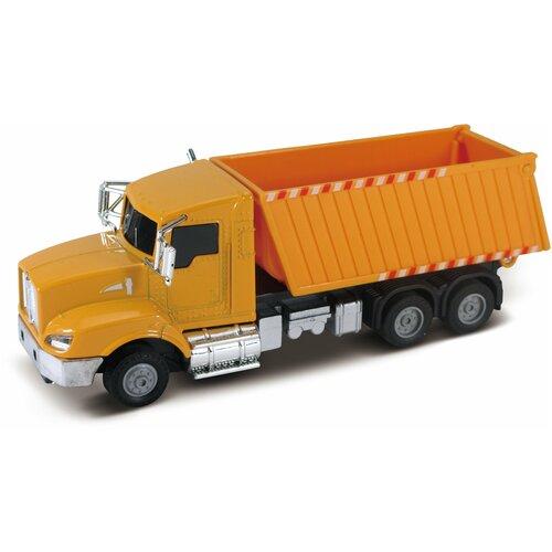 Строительный грузовик, кабина die-cast, инерционный механизм, свет, звук, 1:43 Funky toys FT61081