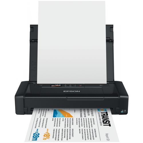 Фото - Принтер Epson WorkForce WF-100W, чёрный компактный фотопринтер epson workforce wf 100w