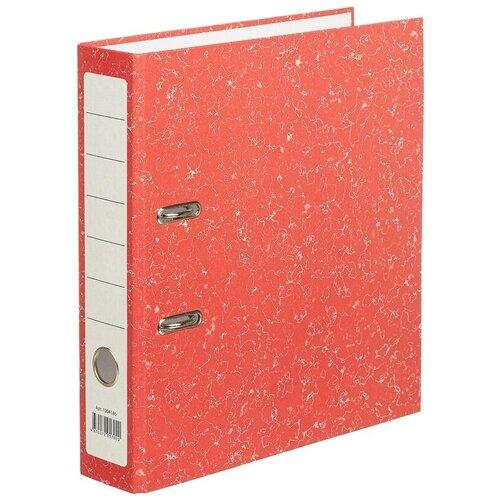 Фото - Attache Папка-регистратор Economy A4, бумвинил, 75 мм красный мрамор attache папка регистратор economy под мрамор 50 мм черный синий