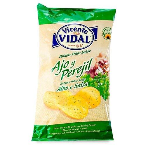 Фото - Чипсы Vicente VIDAL картофельные с чесноком и петрушкой, 135 г vicente gallego barrado contra toda creencia