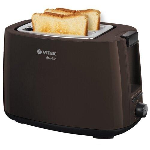 Тостер VITEK VT-1571, коричневый