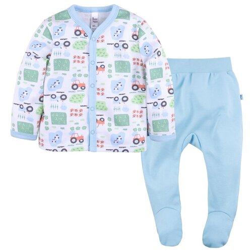 Фото - Комплект одежды Bossa Nova размер 68, голубой/белый комплект одежды leader kids размер 68 голубой