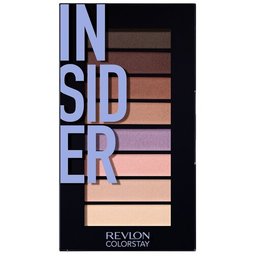 Revlon Палетка теней ColorStay Looks Book Eye Shadow Palettes 940 insider sleek makeup quattro eye shadow medussa s kiss палетка теней тон 331