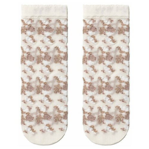 Капроновые носки Conte Elegant 19С-113СП, размер 23-25, brown-panna