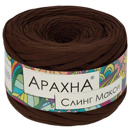 Купить Набор пряжи ARACHNA Sling Maxi, 100% хлопок, 4*280+/-16 г, 100+/-5 м, №09, коричневый, Изготовление кукол и игрушек