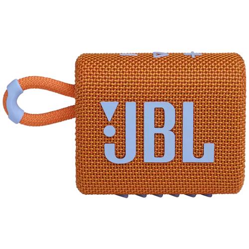 Портативная акустика JBL GO 3, 4.2 Вт, orange