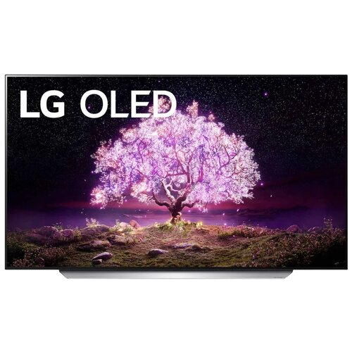"Телевизор OLED LG OLED77C1RLA 76.7"" (2021) ванильный белый"