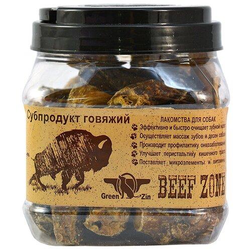Фото - Лакомство для собак Green Qzin Beef zone Сушеное говяжье мясо 3, 400 г лакомство для собак green qzin быстрота сушеная утиная грудка 80 г