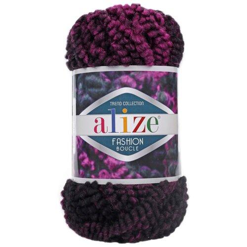 Купить Пряжа для вязания Alize 'Fashion boucle' 100гр., 35м. (70%акрил, 25% шерсть, 5% полиамид) ТУ (5572), 5 мотков