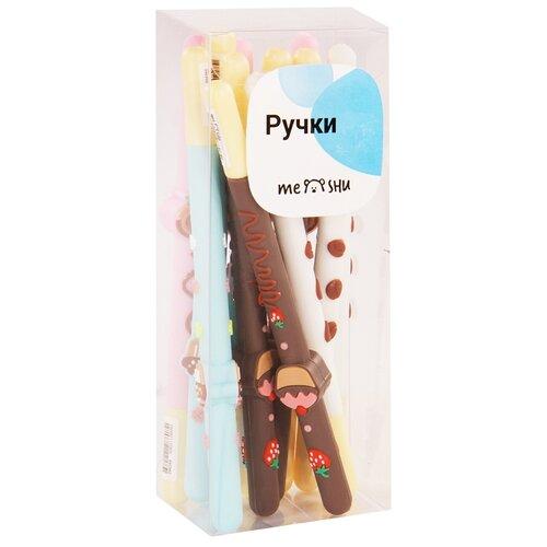 Купить MESHU Набор шариковых ручек Sweets 0.7 мм, 12 шт, cиний цвет чернил, Ручки