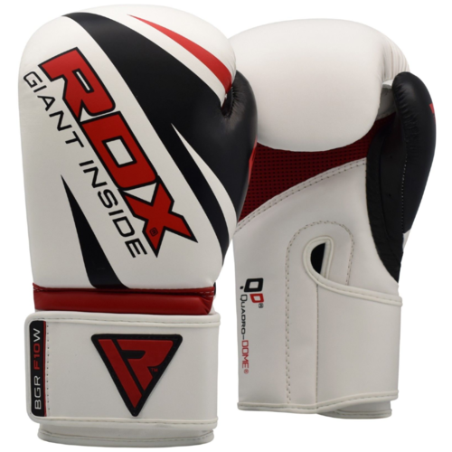 Перчатки боксерские RDX REX F10 WHITE BGR-F10W, 12 oz