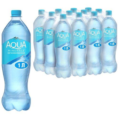 Фото - Вода питьевая Aqua Minerale негазированная, ПЭТ, 12 шт. по 1 л вода питьевая aqua minerale негазированная 2 л