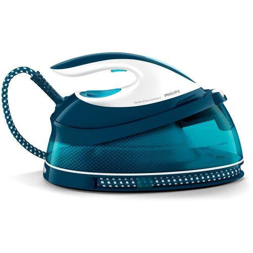 Фото - Парогенератор Philips GC7844/20 PerfectCare Compact синий парогенератор philips gc7808 40