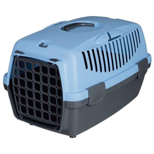 Фото - Клиппер-переноска для собак TRIXIE Capri 2 XS-S 34х37х55 см темно-серый/голубой клиппер переноска для собак imac linus cabrio 50х32х34 см розовый