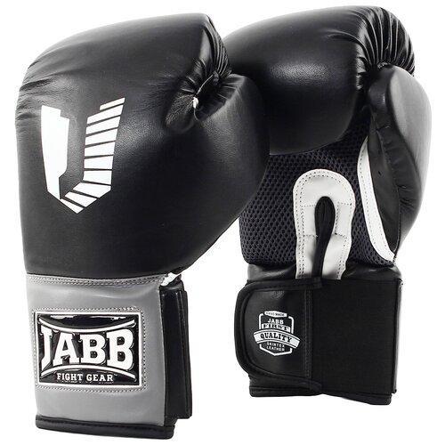 Перчатки бокс.(иск.кожа) Jabb JE-4082/Eu 42 черный 12ун.