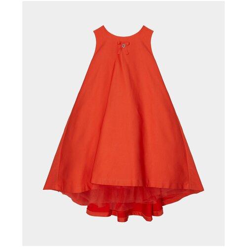 Купить Платье Gulliver размер 98, оранжевый, Платья и сарафаны