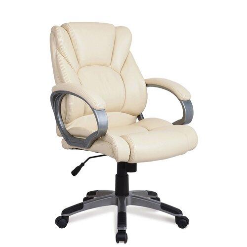 Компьютерное кресло Brabix Eldorado EX-504 для руководителя, обивка: искусственная кожа, цвет: бежевый