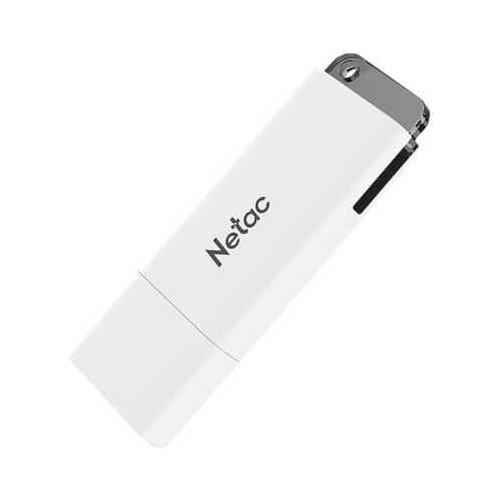 Фото - Флешка Netac U185 64GB, белый флешка netac u505 usb 3 0 64gb черный