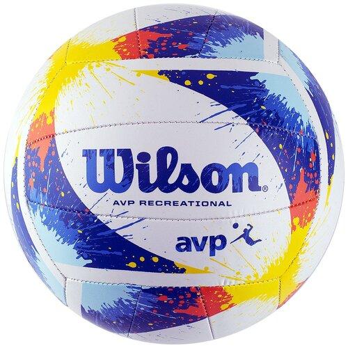 Мяч волейбольный Wilson AVP Splatter, р.5, арт.WTH30120XB