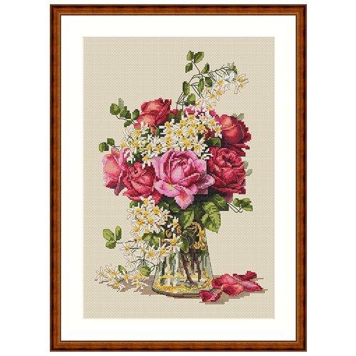 Набор для вышивания Розы MEREJKA K-39, Мережка, Наборы для вышивания  - купить со скидкой