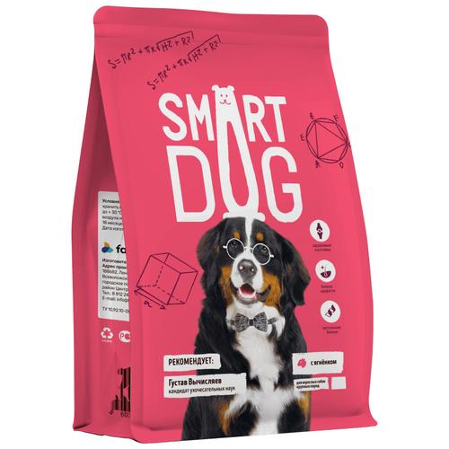 Сухой корм для собак Smart Dog ягненок 12 кг (для крупных пород)
