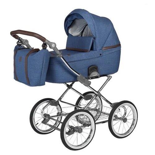 Фото - Универсальная коляска Noordline Nicole Classic (3 в 1), blue/chrome, цвет шасси: серебристый коляски 3 в 1 noordline оlivia sport 3 в 1