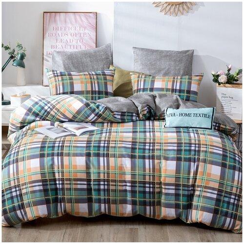 Комплект постельного белья СИТРЕЙД L364, 2-х спальный, Сатин, наволочки 50x70