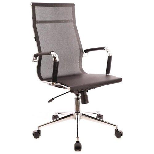 Компьютерное кресло Everprof Opera T для руководителя, обивка: текстиль, цвет: черный