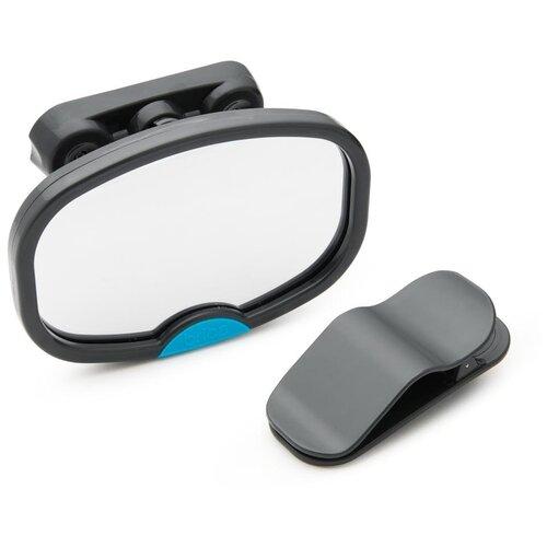 Munchkin Brica. Зеркало контроля за ребёнком в автомобиле Dual Sight Mirror 11095 черный/зеркальный аксессуары для автомобиля munchkin brica зеркало контроля за ребёнком в автомобиле baby in sight mega mirror