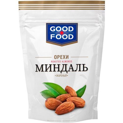 Миндаль GOOD FOOD жареный, 130 г арахис good food жареный с медом и кунжутом 130 г