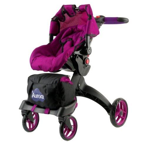 Фото - Коляска для кукол Buggy Boom Aurora многофункциональная прогулочная-трансформер 12 в 1 коляски для кукол buggy boom инфиниа 8459 2 в 1