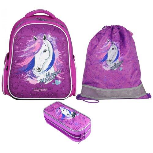 Фото - Рюкзак школьный MagTaller Stoody II, Magic Horse, с наполнением magtaller рюкзак stoody butterfly синий