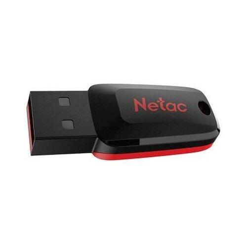 Фото - Флешка Netac U197 16GB 16 ГБ, черный/красный флешка netac u336 16gb черный