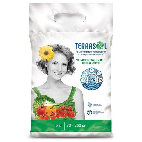 Удобрение TerraSol Весна-лето универсальное, 5 кг удобрение robin green лето осень 5 кг
