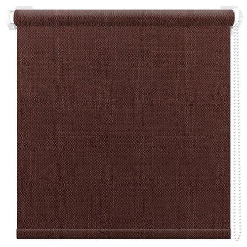 Рулонная штора АС Форос Шатунг (Шоколад), 48х160 см