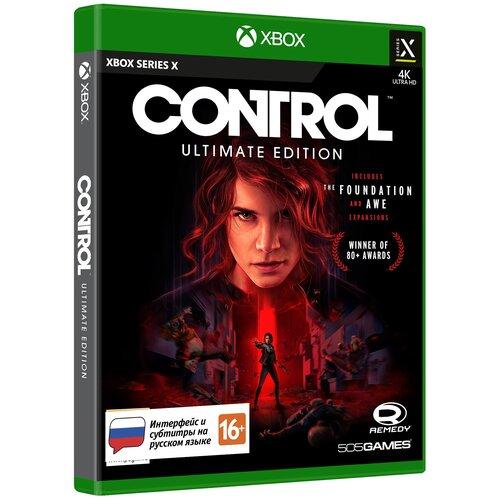 Игра для Xbox Series X Control. Ultimate Edition, русские субтитры