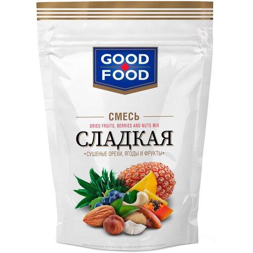 Смесь орехов, сухофруктов и цукатов GOOD FOOD Сладкая 130 г