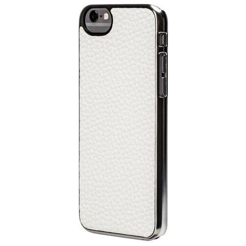 Фото - Чехол-накладка uBear Cartel Leather для Apple iPhone 6/iPhone 6S white чехол накладка ubear soft tone для apple iphone 6 iphone 6s прозрачный